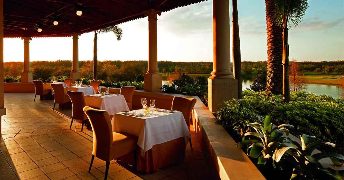 Fine Dining at Norman's at The Ritz-Carlton Orlando, Grande Lakes