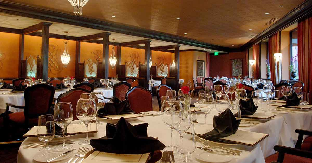 Fine Dining at The Venetian Chop House at Caribe Royale Orlando